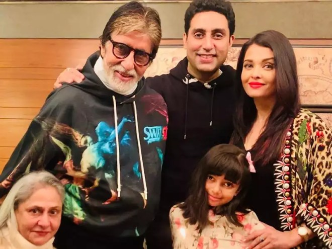 Amitabh Bachchan tweets from the hospital, thanks fans for their eternal love and affection for Abhishek, Aishwarya Rai Bachchan and Aaradhya