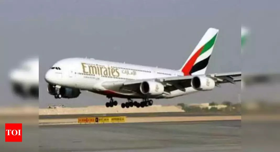 Social distancing on aircraft 'nice' but unrealistic: Emirates – Times of India