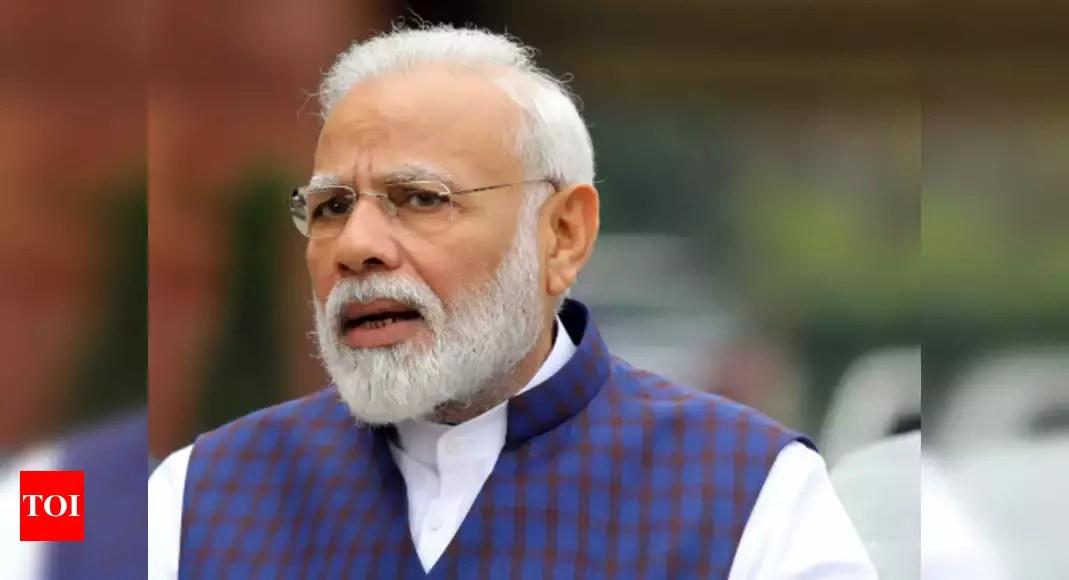 PM Narendra Modi meets financial regulators; discusses measures to revive Covid-hit economy – Times of India