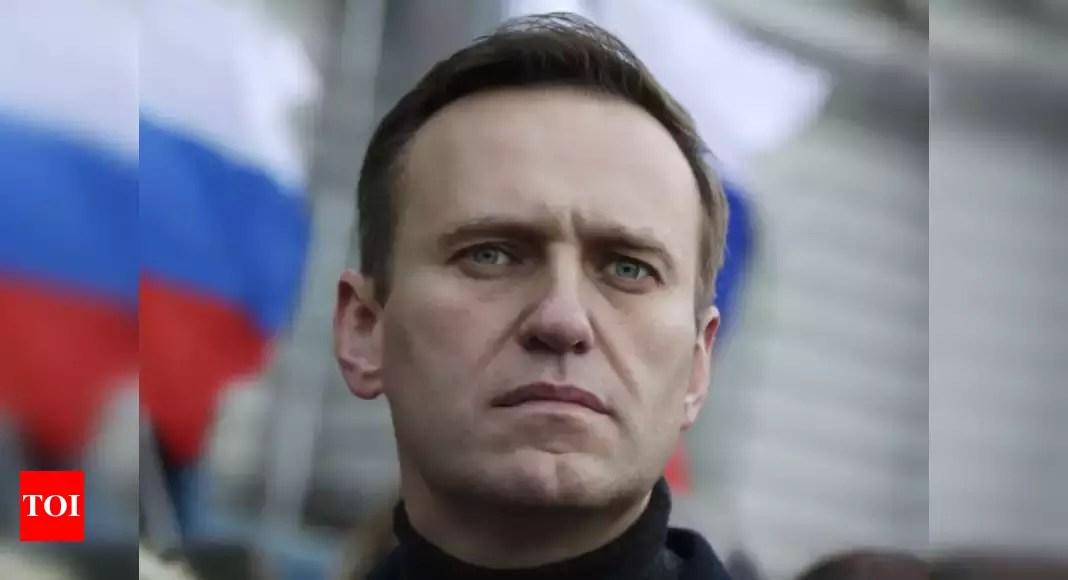 Navalny says Novichok found 'in and on' his body