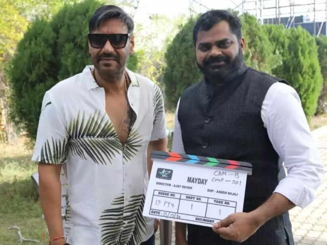 Ajay Devgn commences shoot for his directorial MayDay with Amitabh Bachchan  in Hyderabad   Telugu Movie News - Times of India
