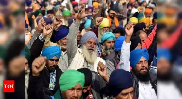 photo किसानों का विरोध: सरकार की वार्ता पेशकश पर फैसला करने के लिए आज किसान यूनियनें बैठक | इंडिया न्यूज़ - टाइम्स ऑफ़ इंडिया