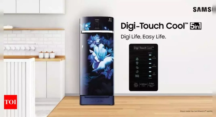 Samsung launches new range of single door refrigerators, price starts at rs 17,990 - times of india   latest news live   find the all top headlines, breaking news for free online february 23, 2021