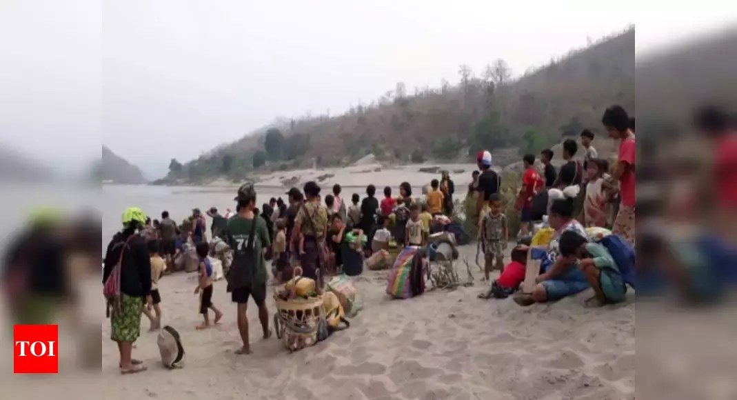 Over 1000 Myanmarese refugees in Mizoram now; 100 sent back but they returned: Officials | India News – Times of India