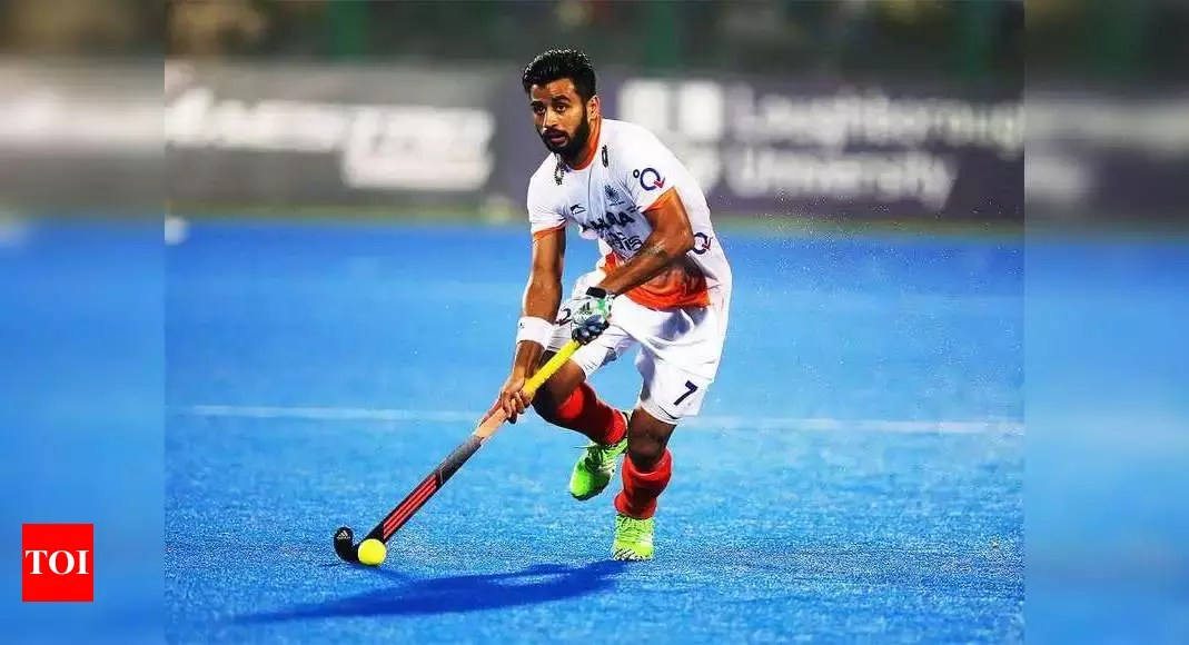 Looking forward to another unbeaten tour, in Argentina: Manpreet Singh | Hockey News – Times of India