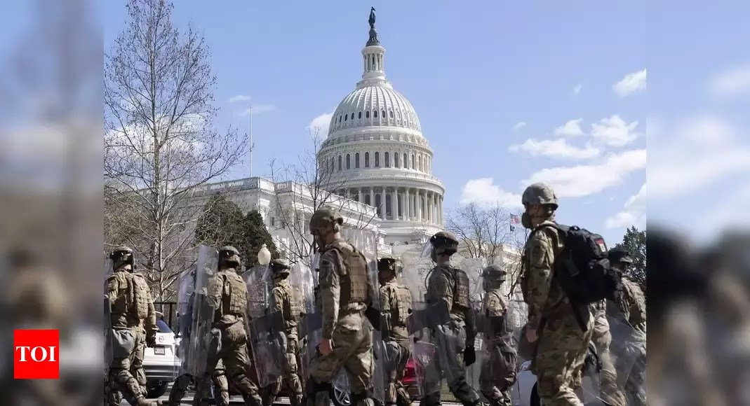 Police officer killed in vehicle attack on US Capitol – Times of India