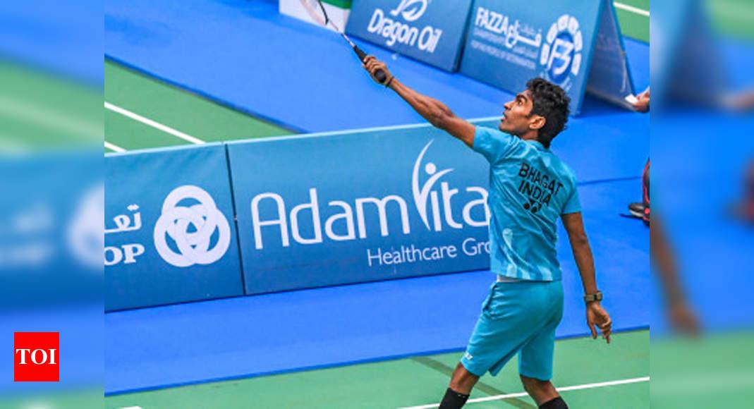 Pramod, Kadam enter finals of Dubai Para Badminton event | Badminton News – Times of India
