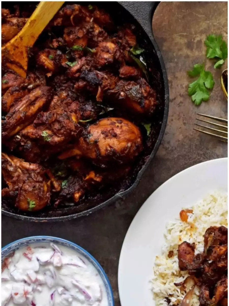 Anglo-Indian Easter feast