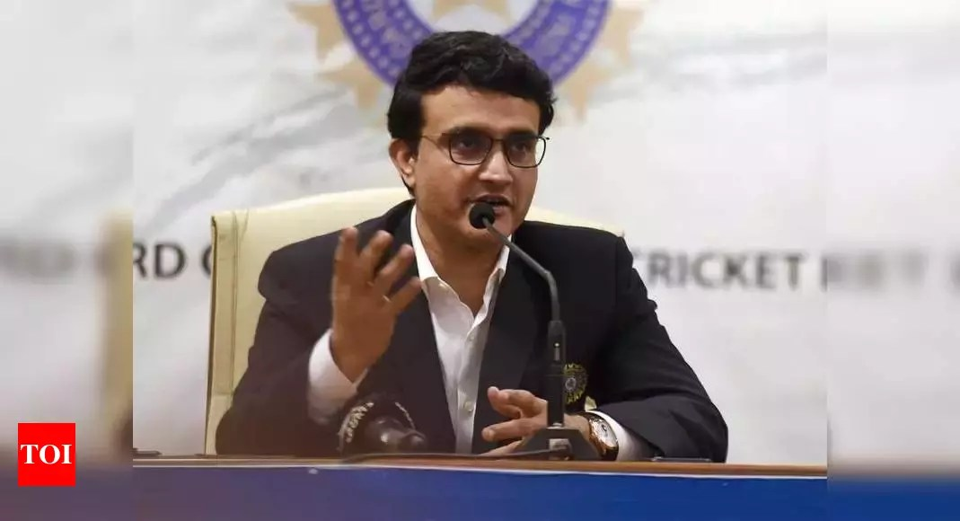 BCCI president Sourav Ganguly says IPL going ahead as per schedule | Cricket News – Times of India