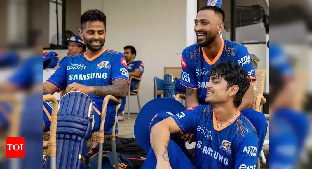 IPL 2021: Mumbai Indians will win the tournament, feels Michael Vaughan | Cricket News – Times of India
