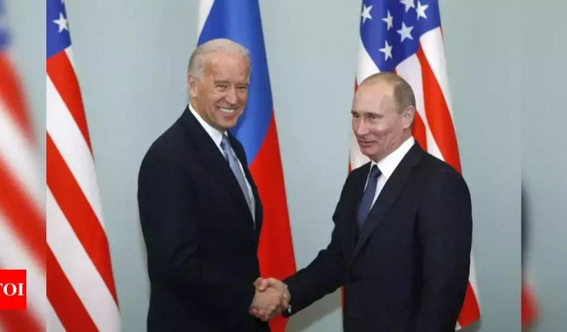 Biden proposes summit with Putin after Russia calls US 'adversary' over Ukraine – Times of India