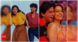 Juhi Chawla remembers that she was not impressed by Shah Rukh Khan's looks when she first saw him on 'Raju Ban Gaya Gentleman' sets |  Hindi Film News