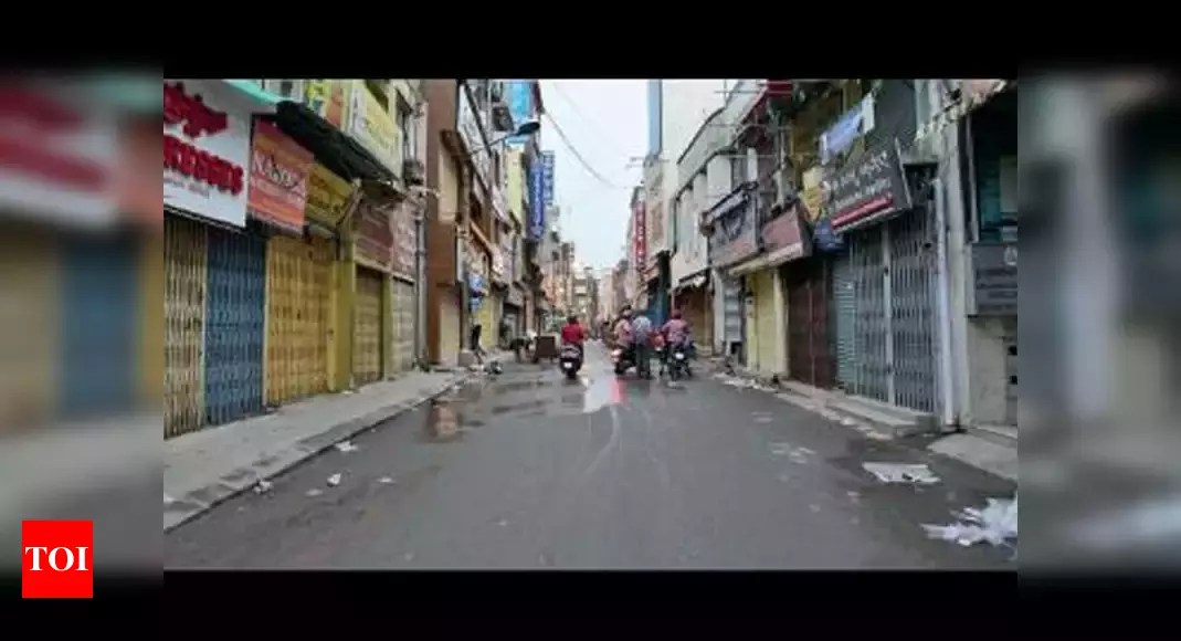 Lockdown in Karnataka: Partial lockdown across Karnataka halts non-essential commercial activities | Bengaluru News – Times of India