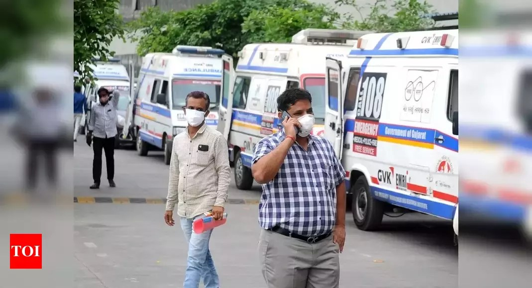 Covid-19: Daily cases touch 3.5 lakh; 2,760 die in 24 hours | India News – Times of India