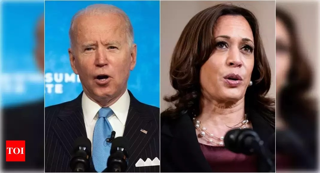 Covid-19: Biden-Harris jolted into action after criticism of silence over India's plight – Times of India