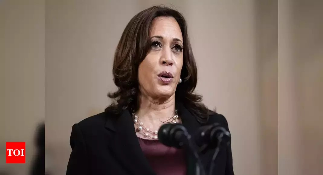 Harris takes on 'hard work' in 100 days as vice president – Times of India