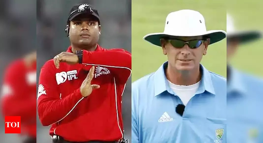 Umpires Nitin Menon, Paul Reiffel pull out of IPL 2021 | Cricket News – Times of India