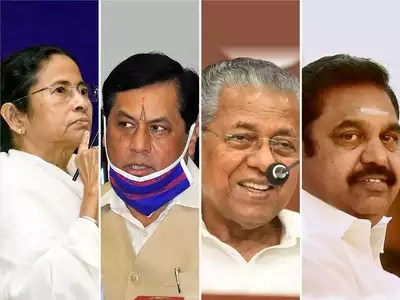 Anti-incumbency takes a beating: TMC set for resounding return in Bengal, LDF in Kerala, BJP in Assam | India News – Times of India