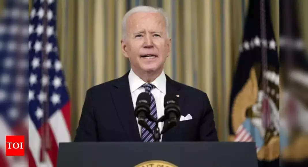 Biden recalls raid on bin Laden in Pakistan in 2011; vows to prevent another terror attack on America – Times of India