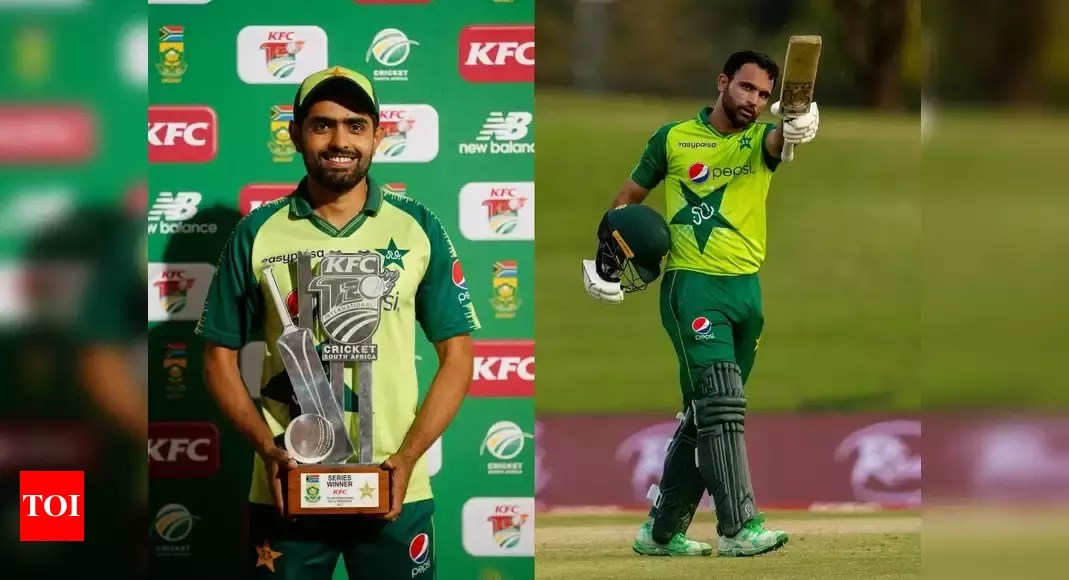 Pakistan's Babar Azam, Fakhar Zaman nominated for ICC Player of the Month | Cricket News – Times of India