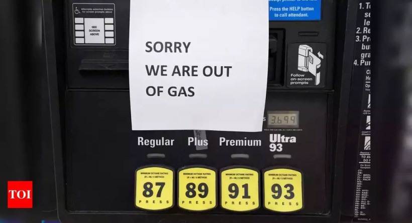 Panic buying shuts down US gas stations after pipeline hack – Times of India