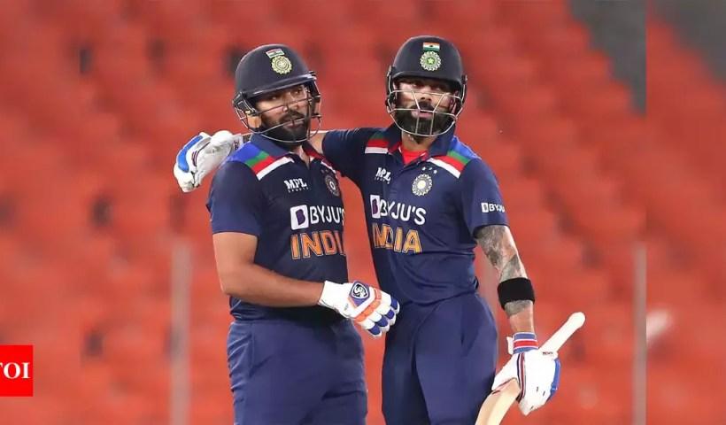 ICC ODI Ranking: Virat Kohli, Rohit Sharma static in ODI batting chart, Jasprit Bumrah fifth among bowlers | Cricket News – Times of India
