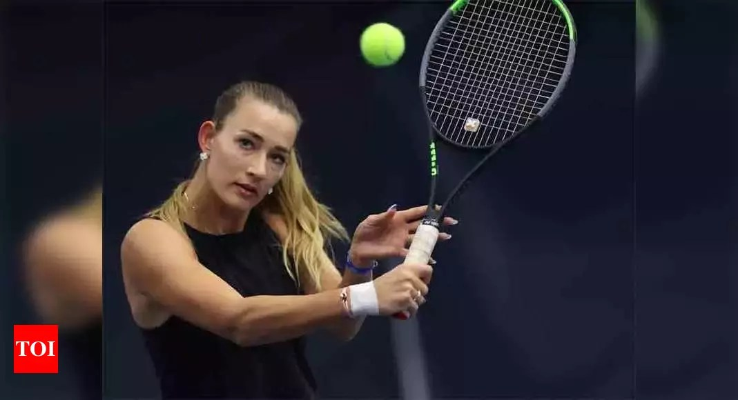 Russia's Sizikova released from police custody after match-fixing allegations | Tennis News – Times of India