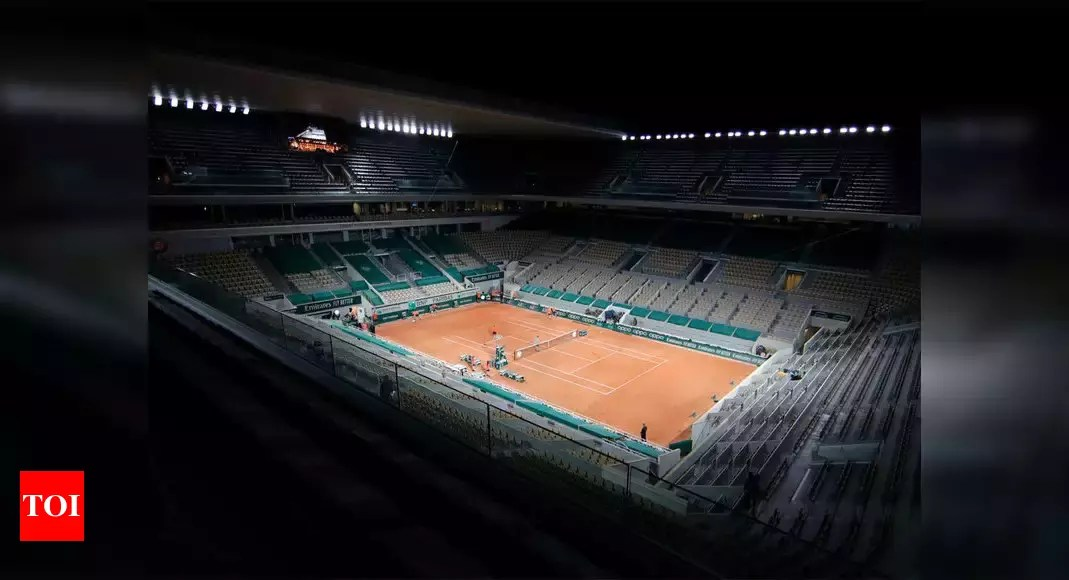 Curfew gives French Open headache over night sessions   Tennis News – Times of India