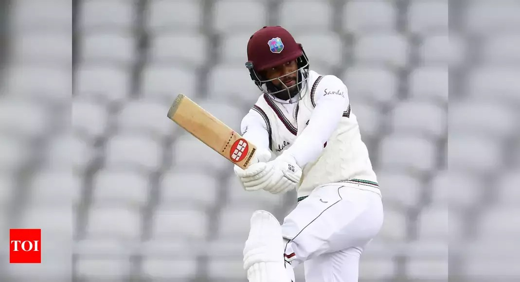 West Indies recall Shai Hope in Test squad, pick teenage fast bowler Jayden Seales to face South Africa | Cricket News – Times of India