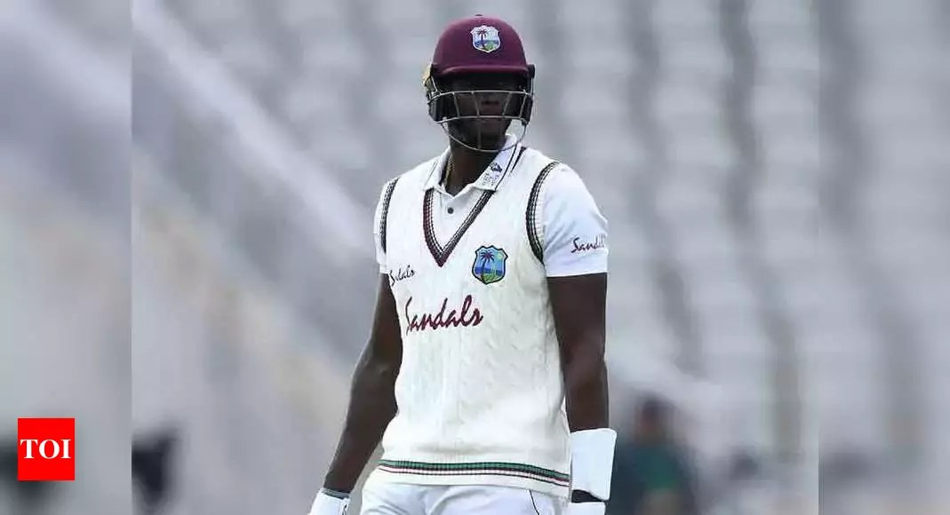 Was shocked when removed from West Indies' captaincy, says Jason Holder   Cricket News – Times of India
