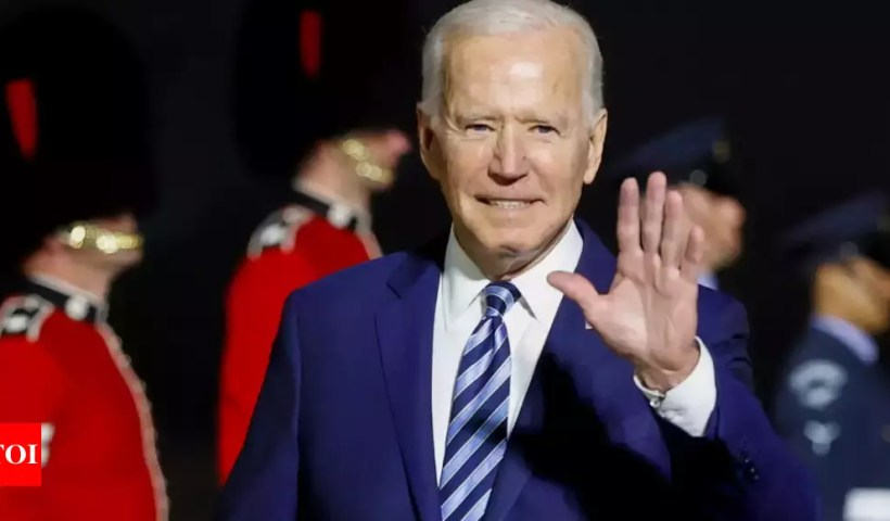 Joe Biden: US President Biden to lay out Covid-19 vaccine donations, urge world leaders to join   World News – Times of India