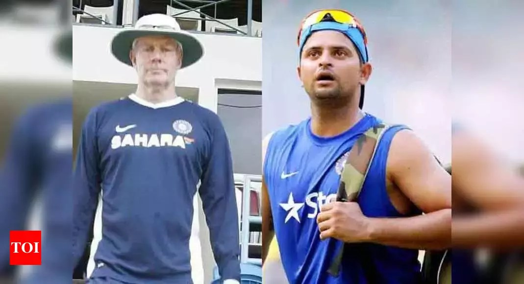 Greg Chappell taught India how to chase and win in ODIs: Suresh Raina | Cricket News – Times of India