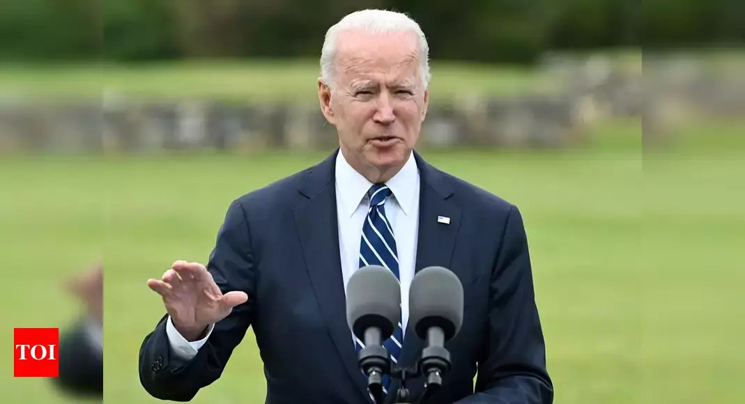 Joe Biden: 'Jabs in arms till Covid's defeated'; Joe Biden says US to buy 500 million vaccine doses for poor nations   World News – Times of India