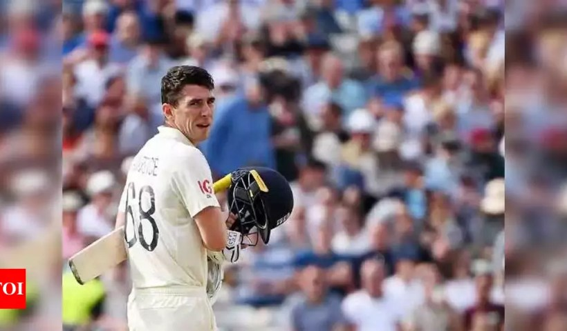 2nd Test: Burns, Lawrence keep England afloat against New Zealand | Cricket News – Times of India
