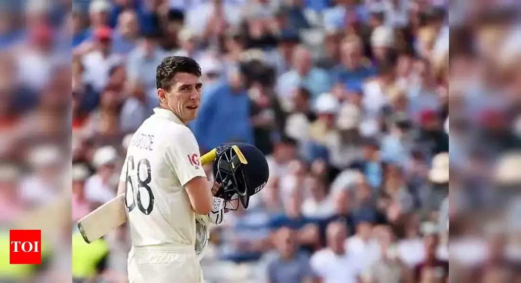 2nd Test: Burns, Lawrence keep England afloat against New Zealand   Cricket News – Times of India