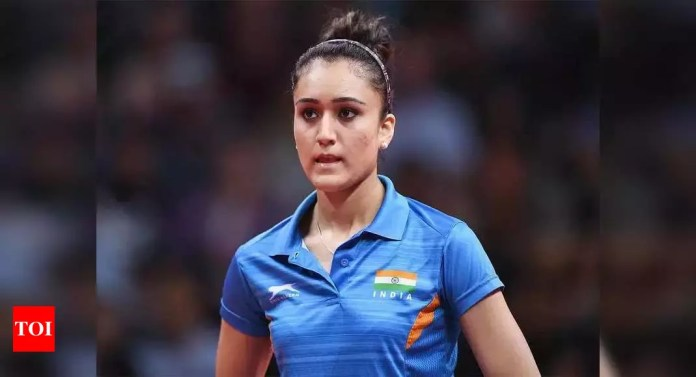 Derailed Olympic preparation back on track after Manika Batra agrees to attend national camp   More sports News – Times of India -India News Cart