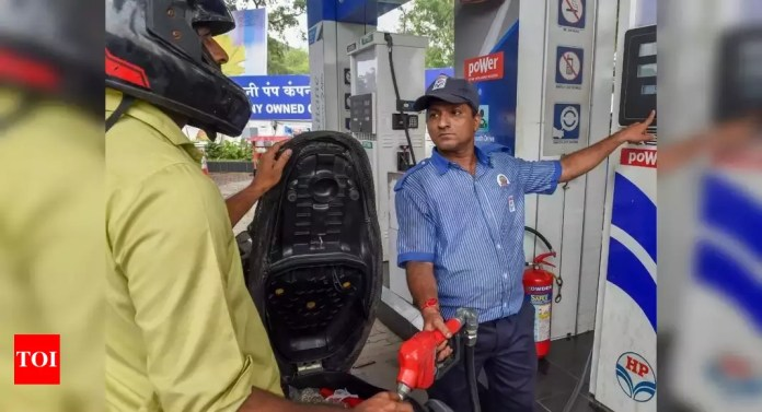 After petrol, diesel at almost Rs 100-mark in Rajasthan – Times of India -India News Cart