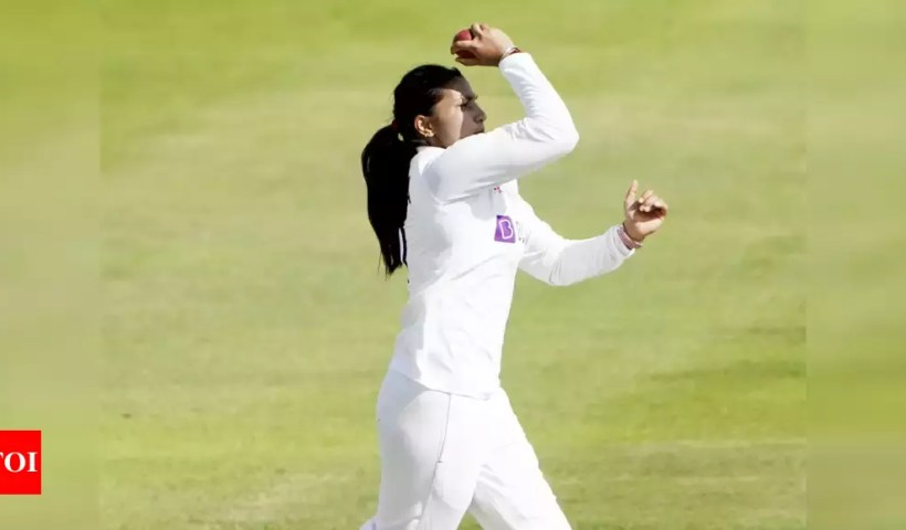 Debutant Sneh Rana dedicates performance to late father   Cricket News – Times of India