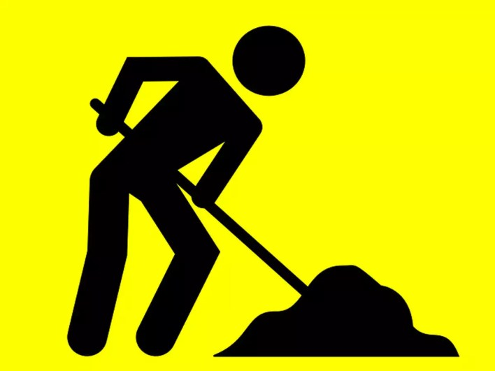 lack of labour delayed road repair work'   goa news - times of india