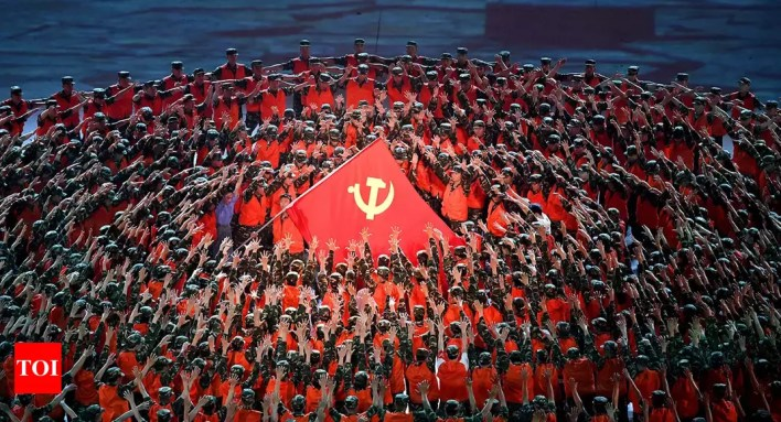 communist party of china celebrates its 100th anniversary - times of india