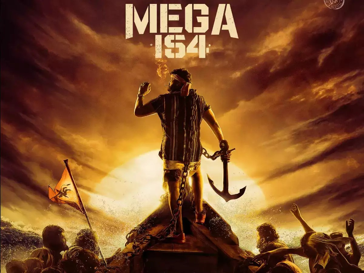 Mega 154: Pre-look poster of Chiranjeevi's next with director Bobby released | Telugu Movie News - Times of India