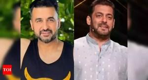 Bigg Boss 15: Salman Khan takes on Raj Kundra's name while talking to fellow housemates;  Shamita Shetty responds