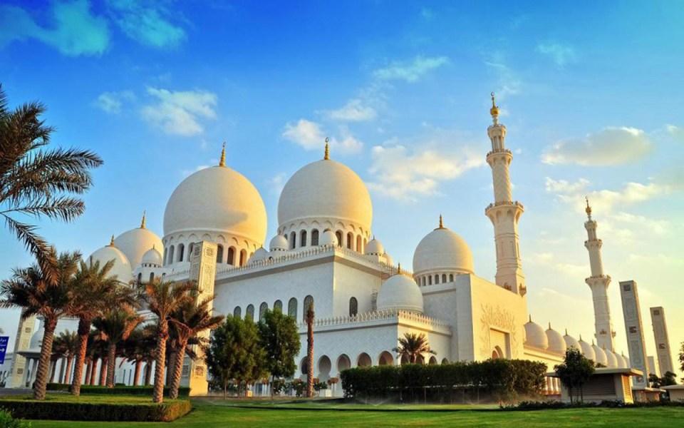 Мечеть шейха Заида в Абу-Даби