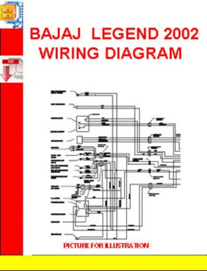 BAJAJ LEGEND 2002 WIRING DIAGRAM  Download Manuals