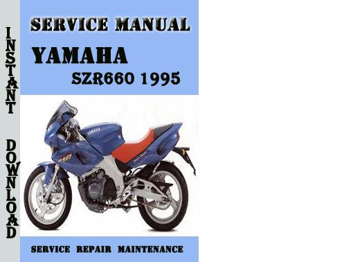 yamaha szr660 szr 600 1998 repair service manual