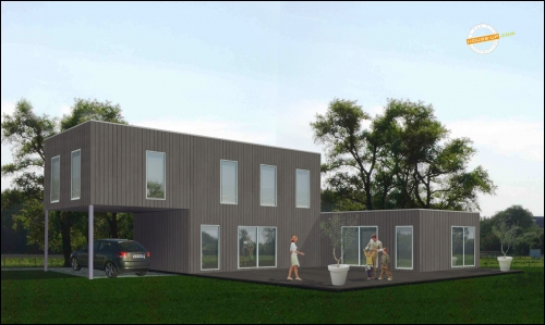 La Maison Container Arrive En France Travaux Com