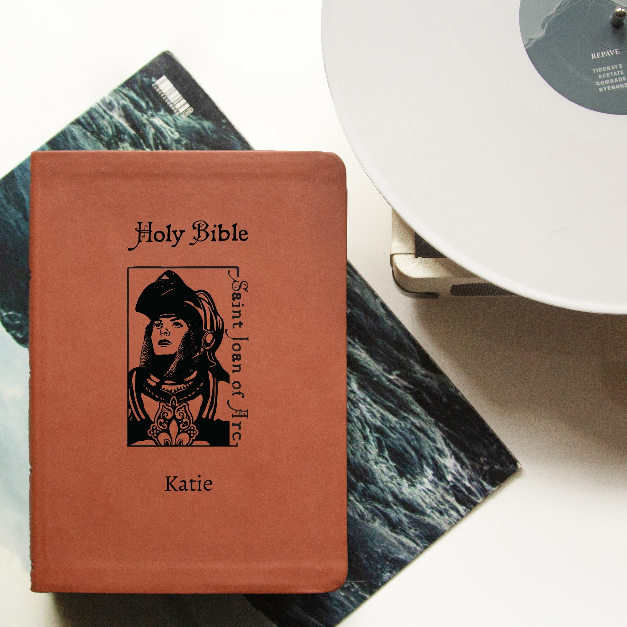 Personalized St Joan Of Arc Bible