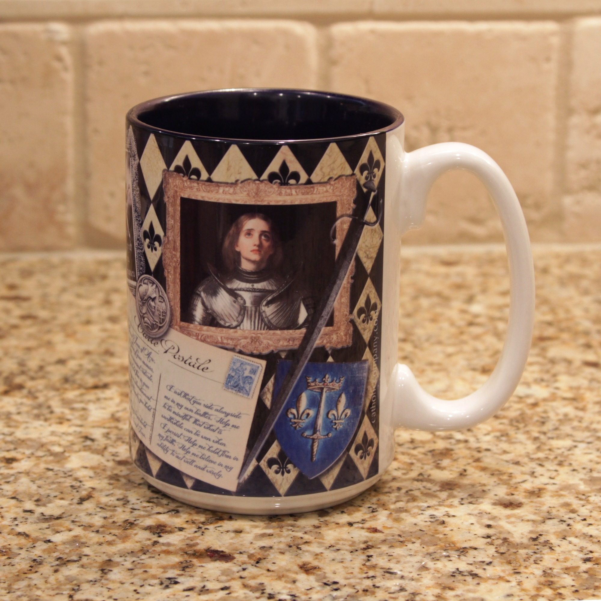 Saint Joan Of Arc Story Mug