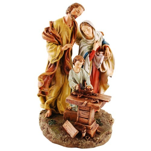 Holy Family in Carpenter Shop, st joseph, st joseph facts, st joseph feast day, catholic prayer to st joseph, catholic church st joseph the worker, st joseph catholic books and gifts, st joseph scapular, st joseph brown scapular, st joseph rosary, t joseph rosary prayer, st joseèh rosary beads, st joseph chaplet, st joseph statue, st joseph statue to sell house, st joseph statue for real estate, st joseph sleeping statue, st joseph books, st joseph medal, st joseph medal necklace, st joseph traditional, prayer, novena, litany, st joseph feast day,