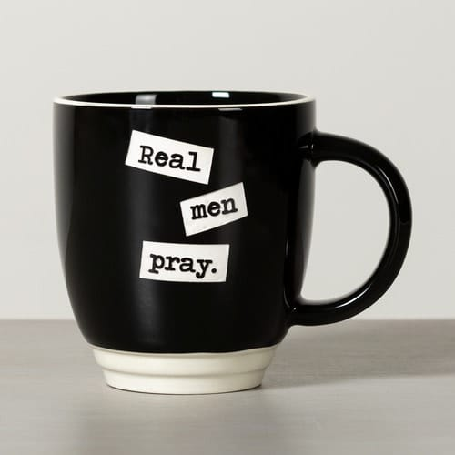 Real Men Pray Mug